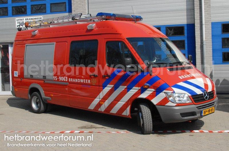 15-9063 Snel interventie voertuig
